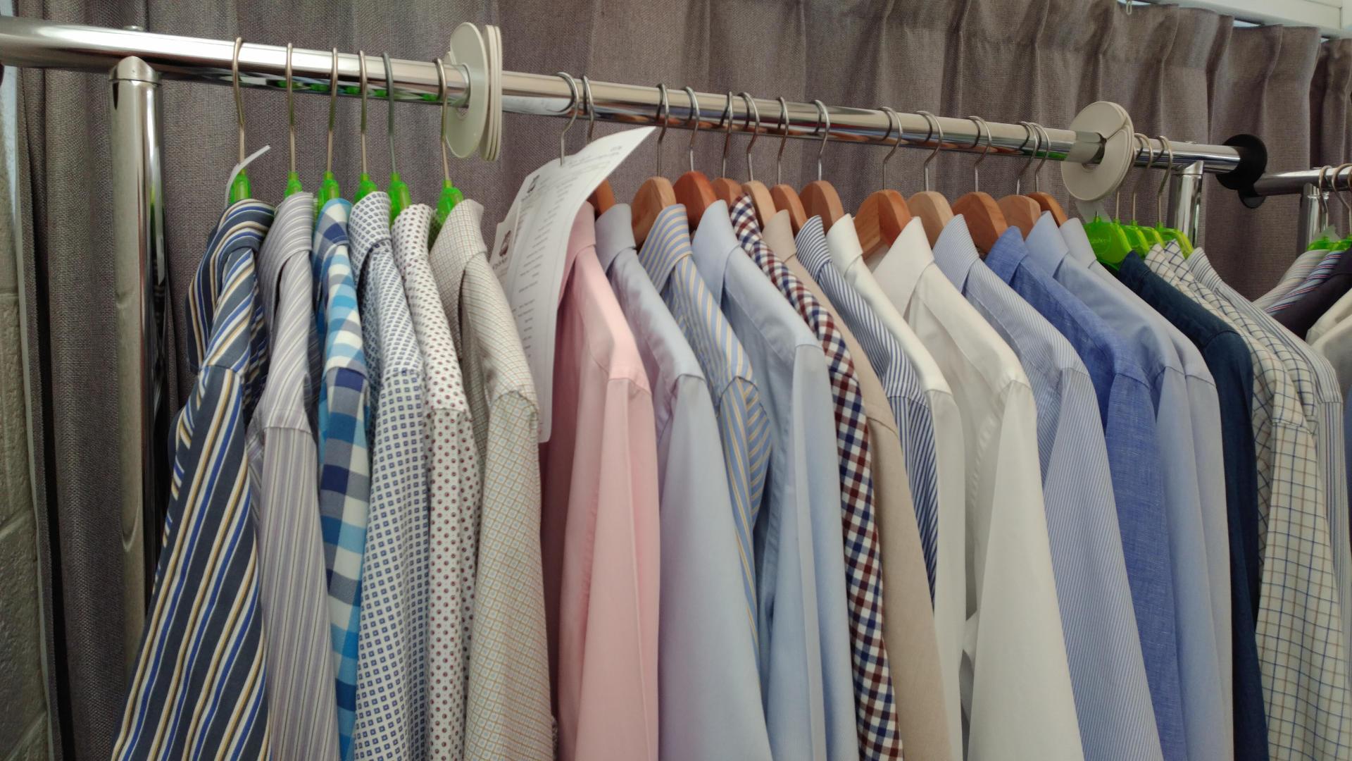 Gestreken hemden